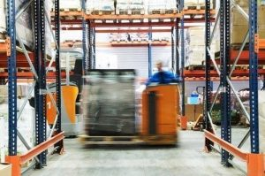 Always Stop and Let a Forklift Pass, to Avoid an Accident.