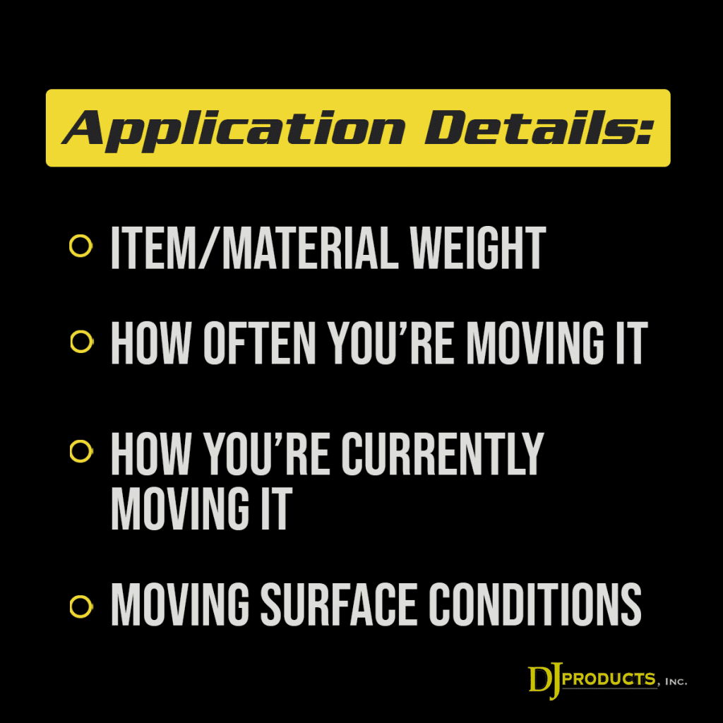 Customizing your Electric Equipment-Moving Unit for your Application